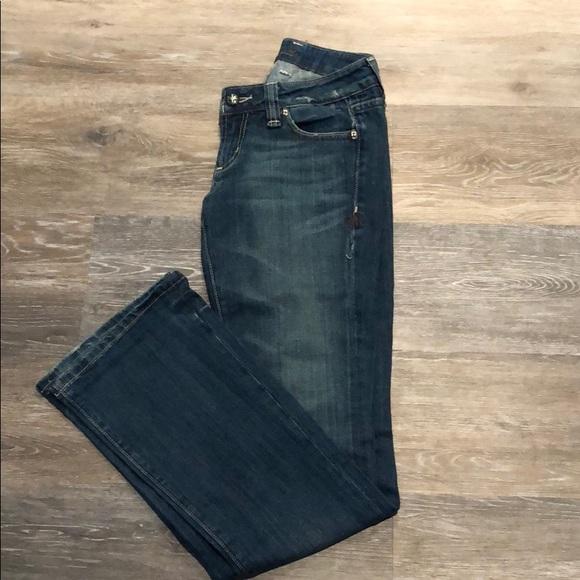 Miss Me Denim - Miss Me medium wash boot cut denim.